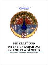 5. Die Kraft und Intention durch das Prinzip Tawisî Melek - Ezidische ...