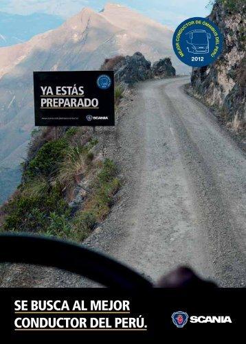 SE BUSCA AL MEJOR CONDUCTOR DEL PERÚ. - Scania
