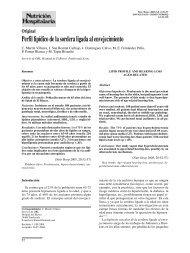 Perfil lipídico de la sordera ligada al envejecimiento - Nutrición ...