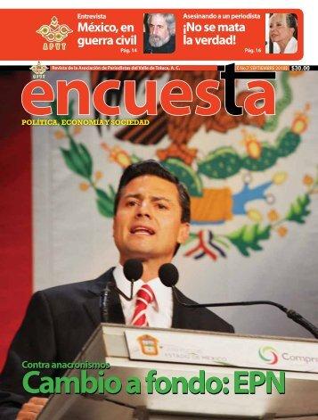 Número 7 - Asociación de Periodistas del Valle de Toluca, AC