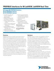 LabVIEW Real-Time Controller Interfaces with Ethernet