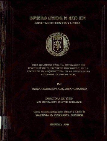 Download (35Mb) - Repositorio Institucional UANL - Universidad ...