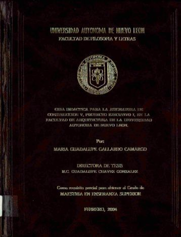Download (35Mb) - Repositorio Institucional UANL - Universidad ...