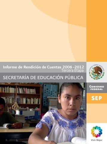 Tercera Etapa IRC - Secretaría de Educación Pública