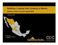View this Presentation (PDF 433 KB) - AuRico Gold