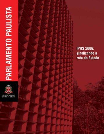 Revista Parlamento Paulista Nº 06 - Assembleia Legislativa do ...