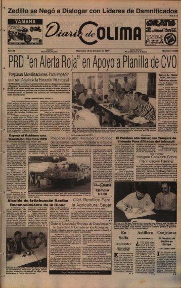 """PRD """"en Aerta Roja"""" en Apoyo a Planilla de OV O - Universidad de ..."""