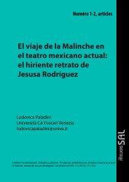 El viaje de la Malinche en el teatro mexicano actual: el hiriente ...