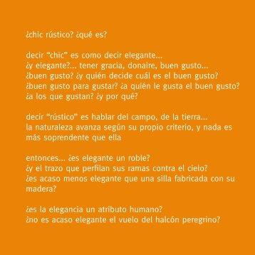 Belén Bajo - Catálogo 2011