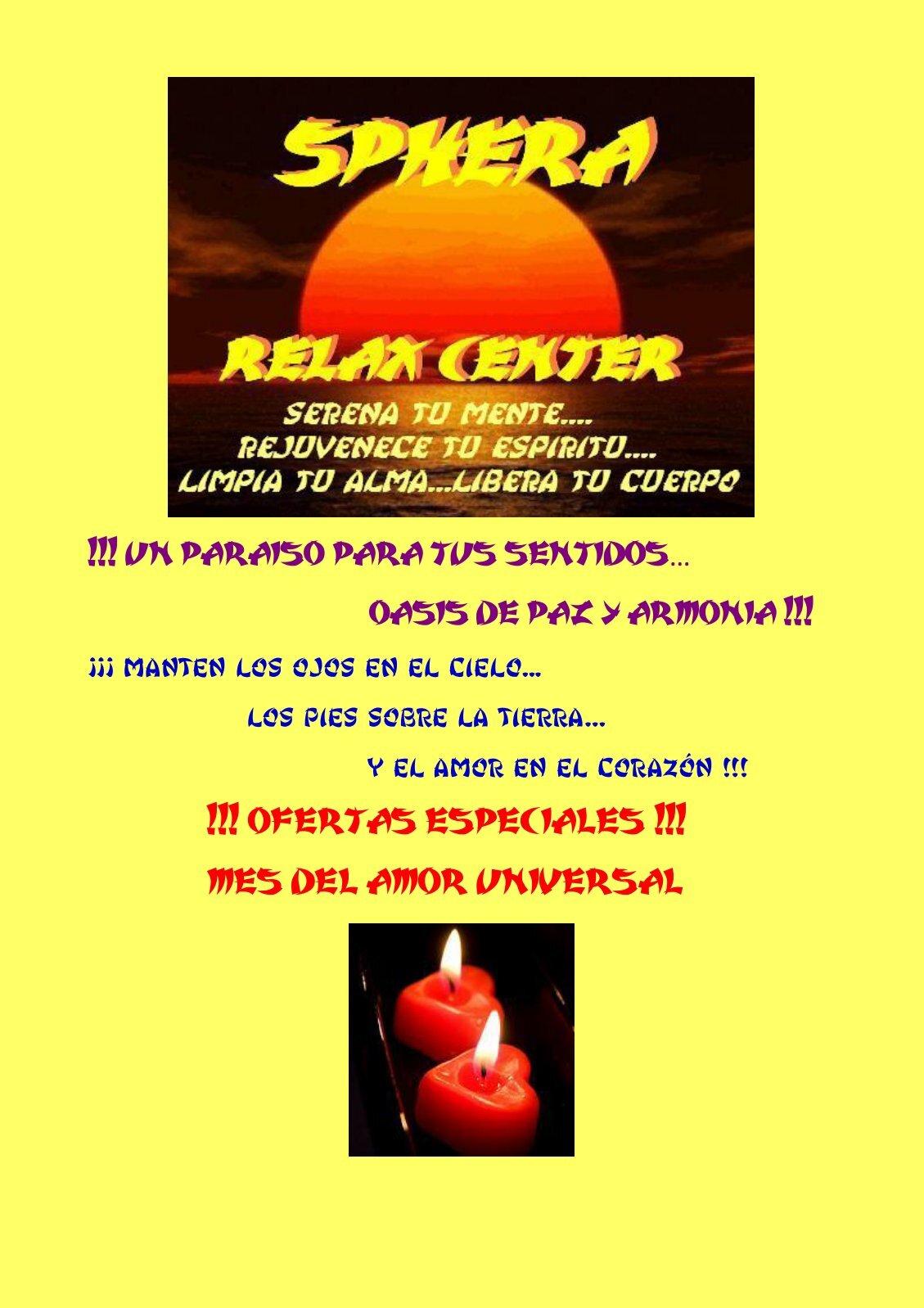 Sphera relax center opiniones