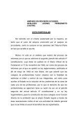 AMPARO EN REVISIÓN 2219/2009. QUEJOSO - Suprema Corte de ...