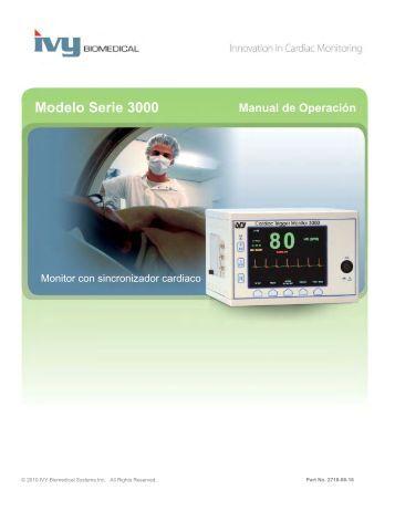 Manual de Operación - Ivy Biomedical Systems, Inc