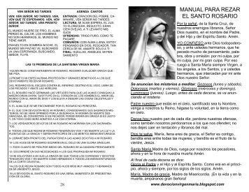 Guia Rezar El Rosario De La Liberacion.html | Autos Post