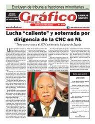 11 de Abril - Periodico El Gráfico de Monterrey Nuevo León