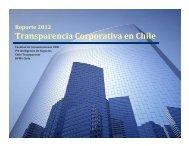 Transparencia Corporativa en Chile - IdN Inteligencia de Negocios
