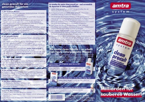 amtra clean procult