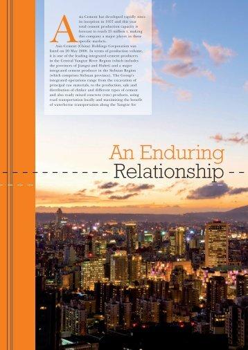 An Enduring Relationship