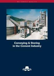 Conveying & Storing in the Cement Industry - AUMUND Fördertechnik
