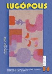 Número 14 Maio 2008 - Politécnico de Lugo
