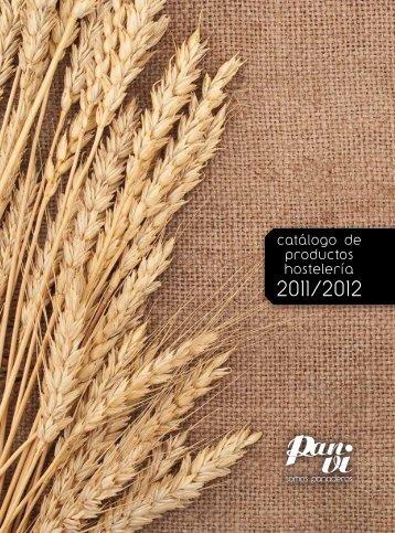 catálogo de productos hostelería - Pan-Vi