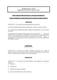 Antes Ley 1271 - Organismos