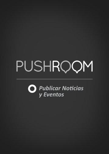 Publicar Noticias y Eventos - PushRoom