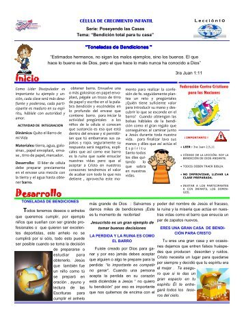 10 - Federación Centro Cristiano para las Naciones
