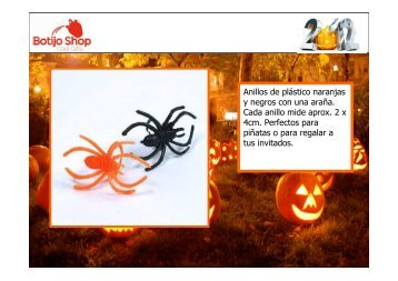 Botijo Shop - Catálogo de productos Halloween 2012