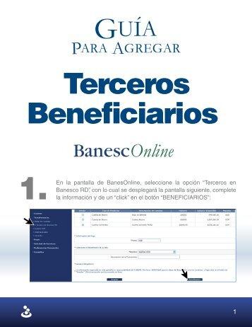 Para Agregar - Banesco