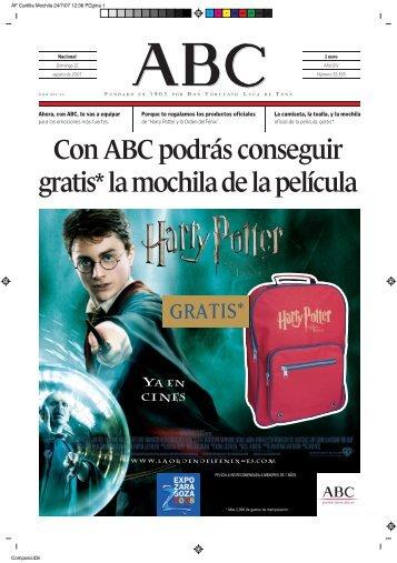 AF Cartilla Mochila - ABC.es