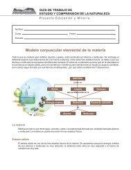 Modelo corpuscular elemental de la materia