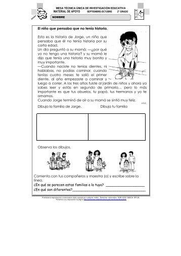 Material de Apoyo - Dirección de Educación Primaria