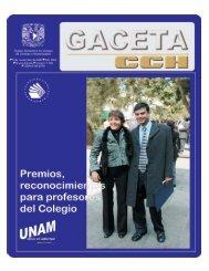 Profesores, orgullo del Colegio - CCH - UNAM