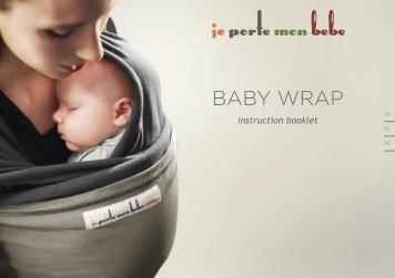 baby wrap - Crianza Natural