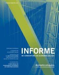de conxuntura da economía galega - Novacaixagalicia Obra Social
