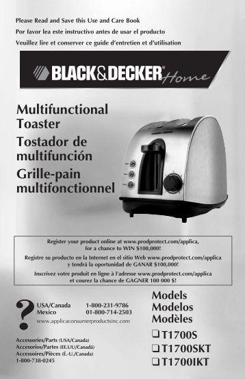 Multifunctional Toaster Tostador de multifunción Grille-pain ...