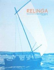 Relinga - Federación Galega pola Cultura Marítima e Fluvial . FGCMF
