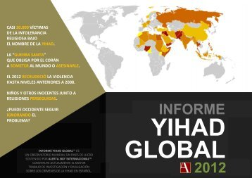 Informe anual global de la Yihad: Año 2012 - Alerta Internacional