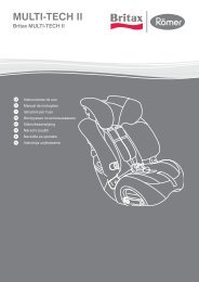 SillaCocheBebe.com | Manual de instrucciones | Britax Multi-Tech II