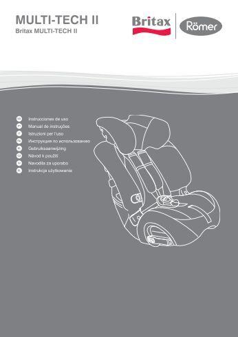 SillaCocheBebe.com | Manual de instrucciones | Britax Multi-Tech II