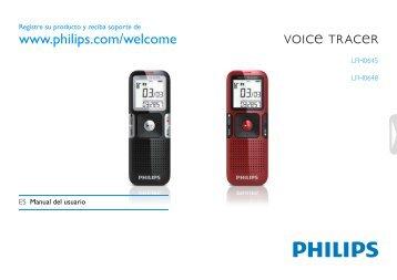 Manual del usuario - Philips