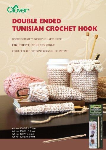 DOUBLE ENDED TUNISIAN CROCHET HOOK