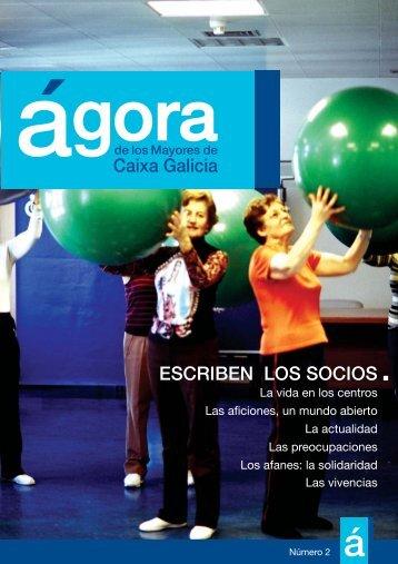 """Nº 2 de la Revista """"Ágora"""" - Novacaixagalicia Obra Social"""