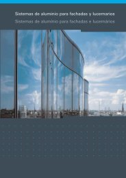 Sistemas de aluminio para fachadas y lucernarios ... - Schüco