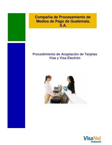 Compañía de Procesamiento de Medios de Pago de Guatemala, S.A.