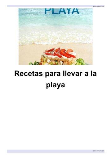 Recetas Para Llevar A La Playa.pdf