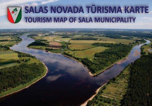 TOURISM MAP OF SALA MUNICIPALITY - Salas Novads