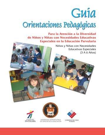 Guía de Orientaciones Pedagógicas para la Atención a - Altavoz