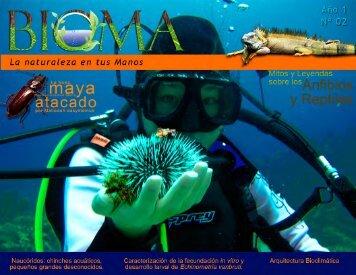 Bioma, diciembre de 2012 - Universidad de El Salvador
