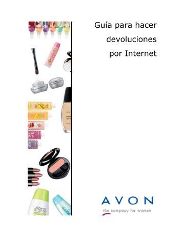 Guía para hacer devoluciones por Internet - Avon